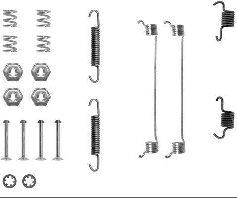 Productafbeelding voor Remschoen -montageset achterzijde