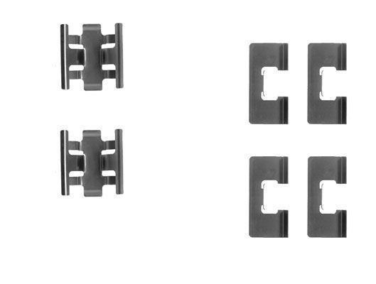 Productafbeelding voor Remblok-montageset achterzijde