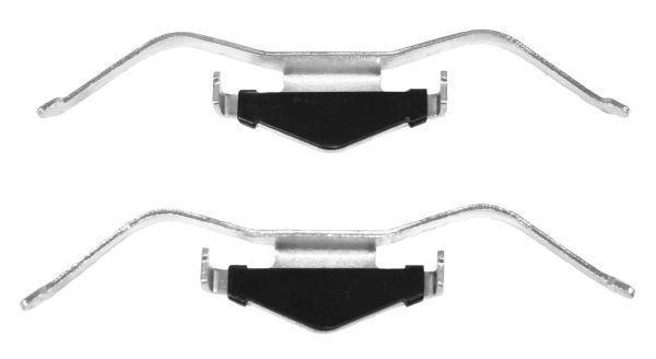 Remblok-montageset voorzijde voor Opel Vectra C 1.8 16v
