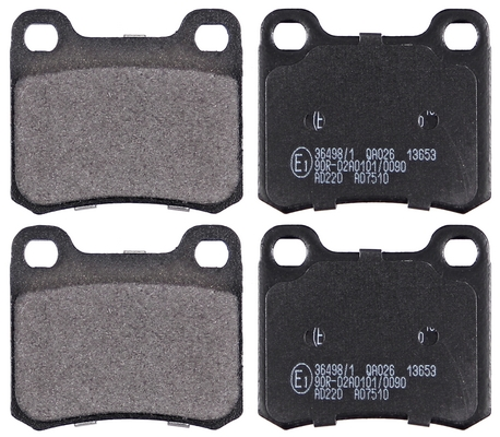 Productafbeelding voor Remblokken achterzijde origineel kwaliteit