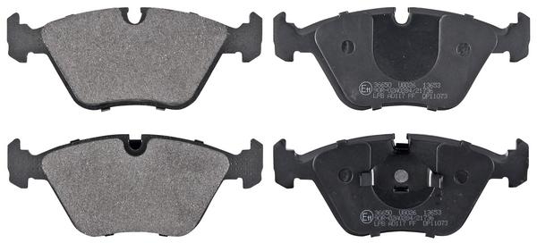 Remblokken voorzijde origineel kwaliteit voor Bmw Z4 Coupe (e86) M