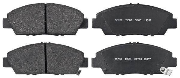 Remblokken voorzijde origineel kwaliteit voor Honda Accord V  1.9 I (ce7)
