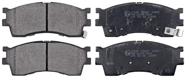 Remblokken voorzijde origineel kwaliteit voor Kia Clarus 2.0 I 16v