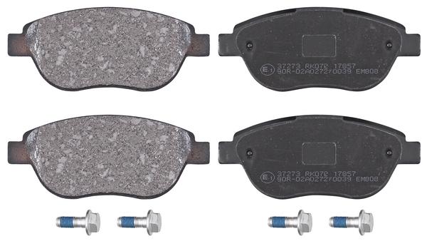 Remblokken voorzijde origineel kwaliteit voor Citroen Berlingo 1.6