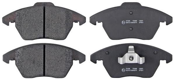 Remblokken voorzijde origineel kwaliteit voor Audi A1 Sportback 1.4 Tfsi