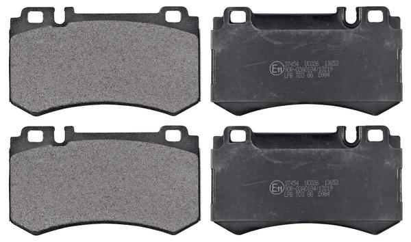 Remblokken achterzijde origineel kwaliteit voor Mercedes-benz S-klasse Coupe (c216) Cl 600 (216.376)