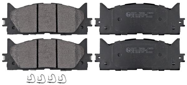 Lexus Es 250 (avv60_, Asv60_) Remblokken voorzijde origineel kwaliteit
