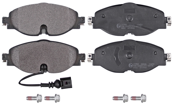 Remblokken voorzijde origineel kwaliteit voor Audi A3 Cabriolet 1.4 Tfsi