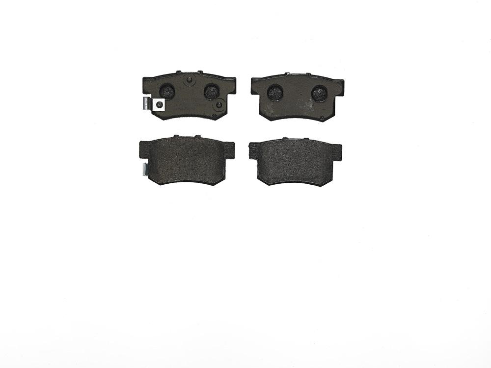 Remblokken achterzijde Brembo premium voor Honda Accord V 1.9 I (ce7)