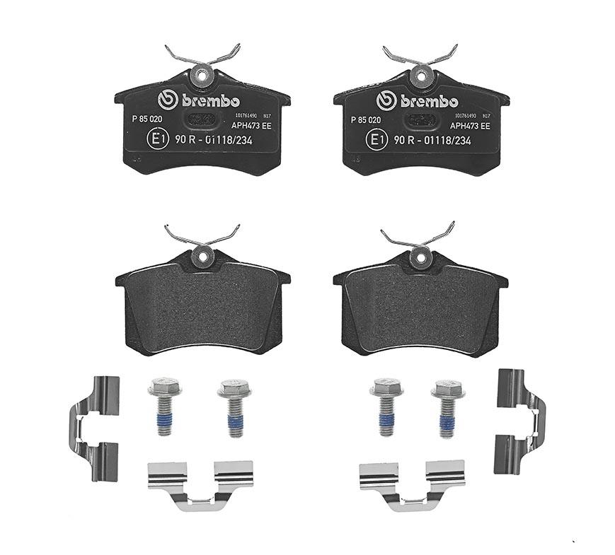 Productafbeelding voor Remblokken achterzijde Brembo premium