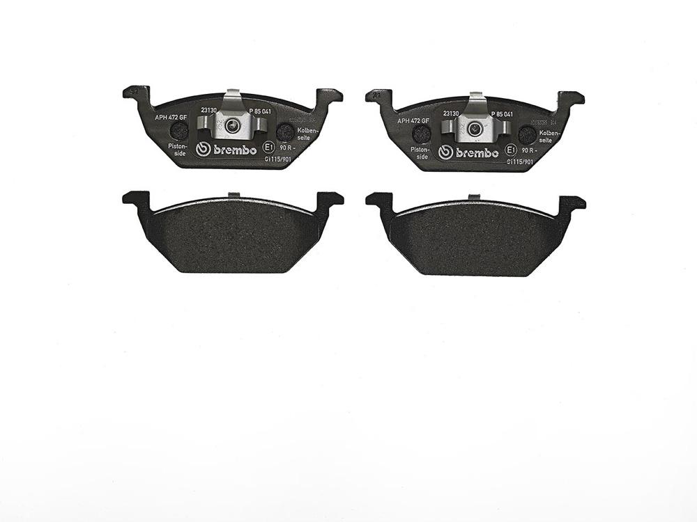 Remblokken voorzijde Brembo premium voor Seat Toledo IV 1.4 Tsi