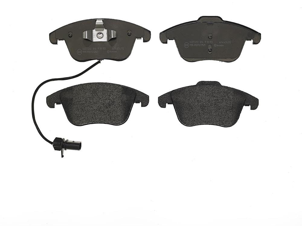 Remblokken voorzijde Brembo premium voor Audi A4 Avant 1.8 Tfsi