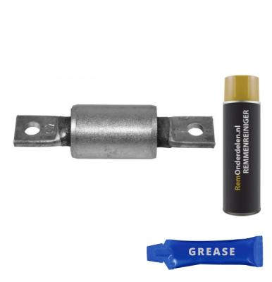Fiat   Draagarmrubber voorzijde, links of rechts, onder