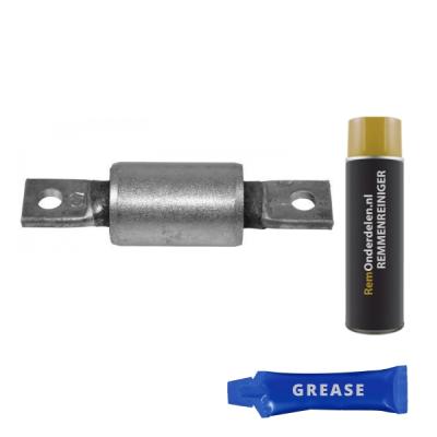 Lancia   Draagarmrubber voorzijde, links of rechts, onder