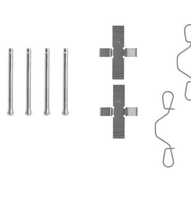Citroen   Remblok-montageset voorzijde