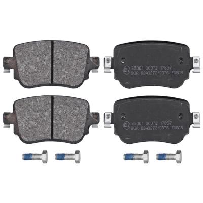 Audi   Remblokken achterzijde origineel kwaliteit
