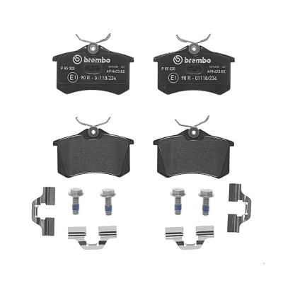 Citroen Remblokken achterzijde Brembo premium