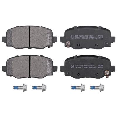 Fiat   Remblokken achterzijde origineel kwaliteit