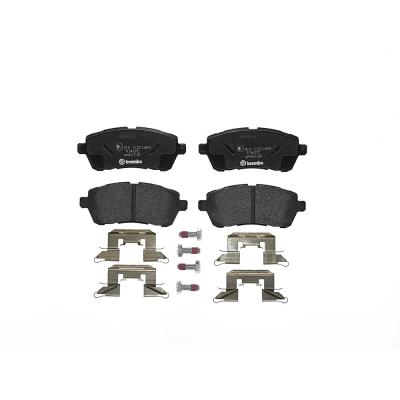 Ford Fiesta Vi  Remblokkenset voorzijde Brembo premium
