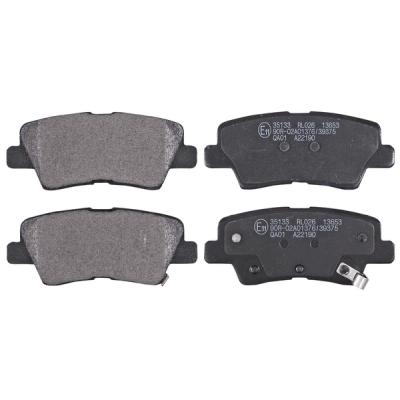 Hyundai   Remblokken achterzijde origineel kwaliteit