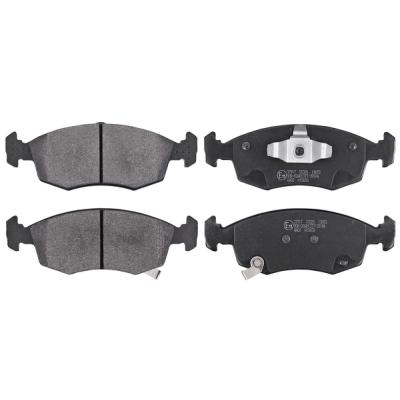 Lancia Remblokken voorzijde origineel kwaliteit