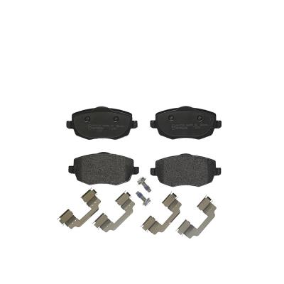Lancia Remblokken voorzijde Brembo premium