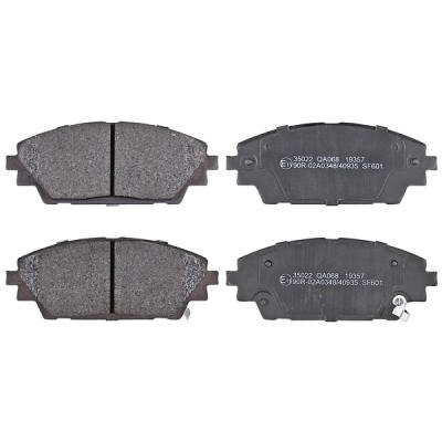 Mazda   Remblokken voorzijde origineel kwaliteit