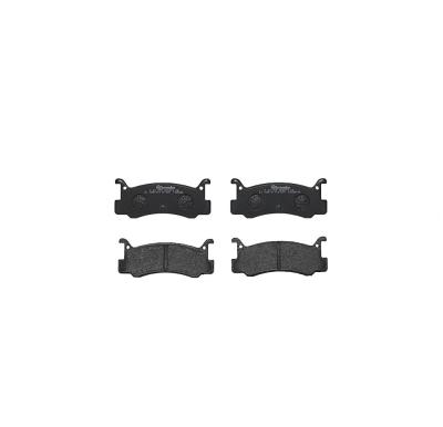Mazda   Remblokken achterzijde Brembo premium