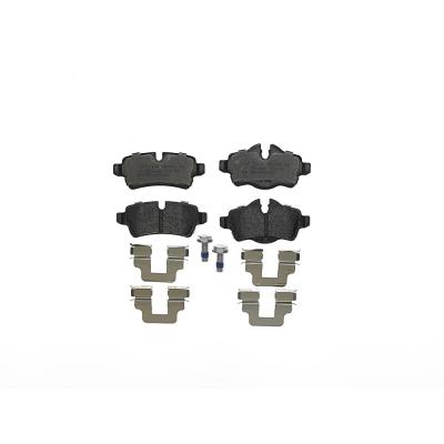 Mini   Remblokken achterzijde Brembo premium