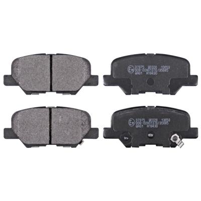Mitsubishi   Remblokken achterzijde origineel kwaliteit