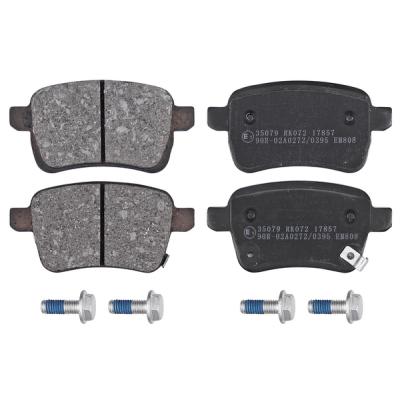 Opel   Remblokken achterzijde origineel kwaliteit