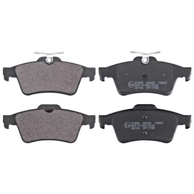 Peugeot   Remblokken achterzijde origineel kwaliteit