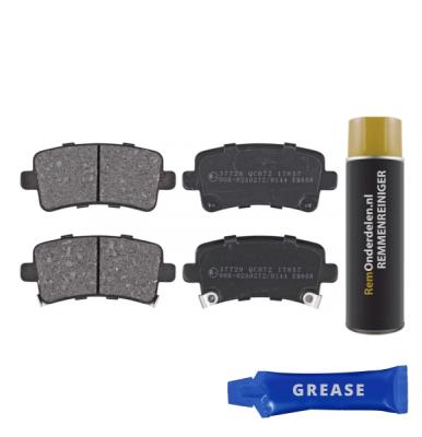Saab Remblokken achterzijde origineel kwaliteit