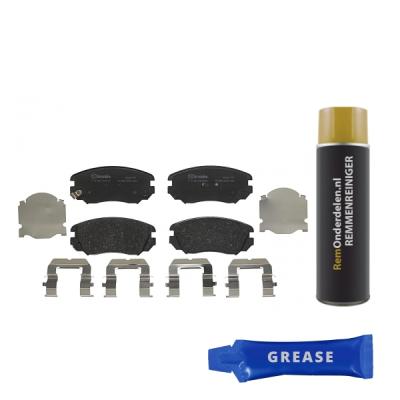Saab Remblokken voorzijde Brembo premium