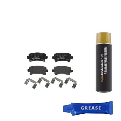 Saab Remblokken achterzijde Brembo premium