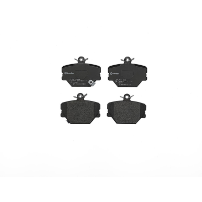 Smart Remblokken voorzijde Brembo premium