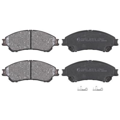 Suzuki   Remblokken voorzijde origineel kwaliteit