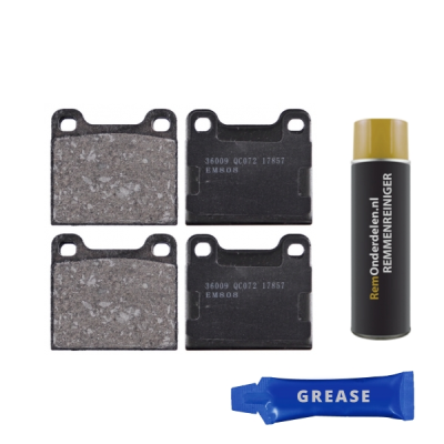 Volvo Remblokken achterzijde origineel kwaliteit