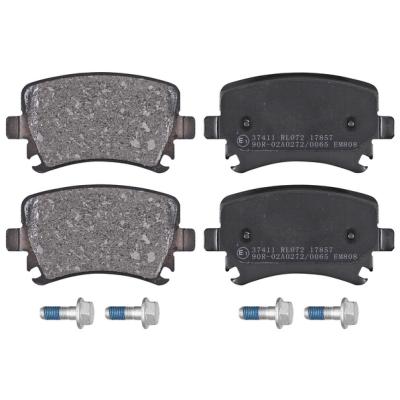Volkswagen (vw) Remblokken achterzijde origineel kwaliteit