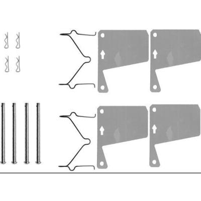 Ford Remblok-montageset voorzijde