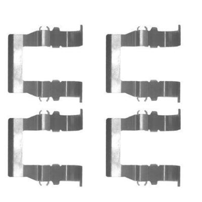 Mitsubishi Remblok-montageset voorzijde