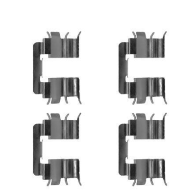 Nissan   Remblok-montageset voorzijde