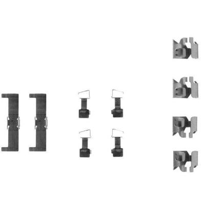 Toyota   Remblok-montageset voorzijde