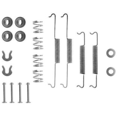 Porsche   Remschoen -montageset achterzijde